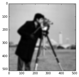 Blurred camera-man image